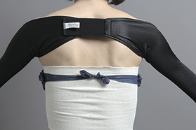 脂肪吸引の圧迫固定(二の腕)